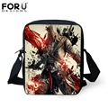 FORUDESIGNS Vintage Children School Bags Assassins Creed Print Mini Baby Book Bags For Boys Kindergarten Mochila Kids Bag Gifts