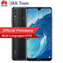 Huawei Onur 8X Max 7.12 inç MobilePhone 16MP Çift Arka Kamera 4900 mAh Pil Smartphone Android 8.2 Çoklu Dil