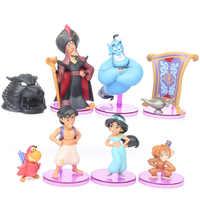 Disney Prinzessin Abbildung Spielzeug Jasmin Böse Affe Tiger Aladdin und Seine Lampe PVC Action Figure Modell Spielzeug Puppen