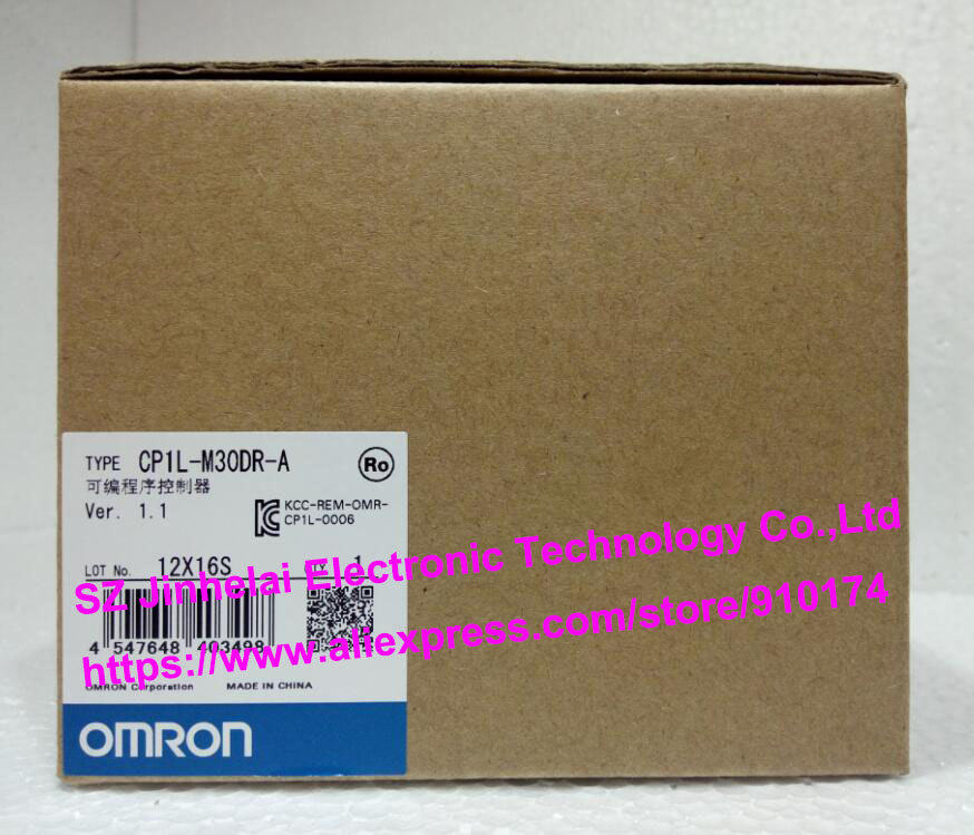 купить 100%New and original CP1L-M30DR-A OMRON PLC CONTROLLER по цене 16459.47 рублей