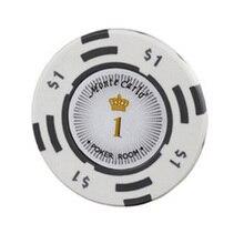 20 шт./лот высококачественные для игры в покер чипы 14 г глина/железо/ABS фишки казино Корона техасский холдем покер