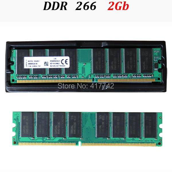 ФОТО (for all motherboard) desktop memory PC-2100 RAM DDR1 266Mhz 2G  1G*2 bipass / ddr 266 2Gb -- lifetime warranty -- good quality