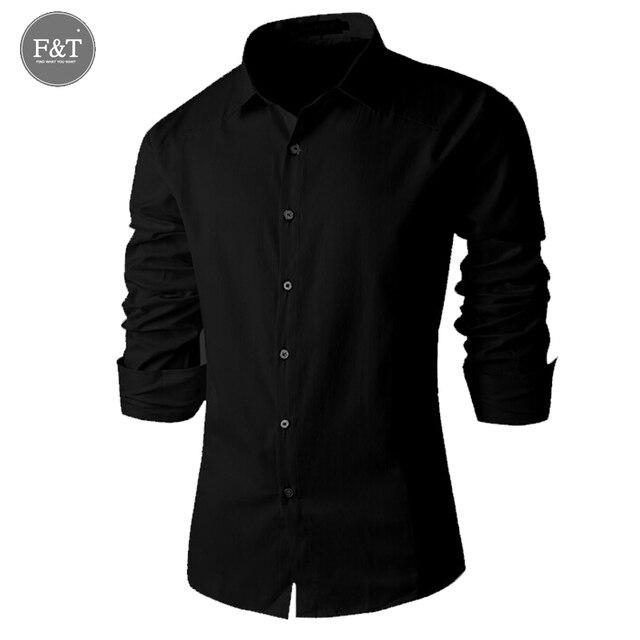 [Азиатский Размер] новый Кнопку Французский Манжеты Рубашки для Мужчин классический Slim Fit С Длинным Рукавом Марка Деловых Модные Футболки