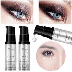 Image 3 - איפור בסיס קרם לחות טבעי עירום פנים טיפול עין בסיס מקצועי איפור פריימר קרם נוזל מלא כיסוי ג ל