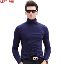 Winter Thick Warm Sweater Men Turtleneck Brand Mens Sweaters Slim Fit Pullover Men Knitwear Double collar Men's pullovers