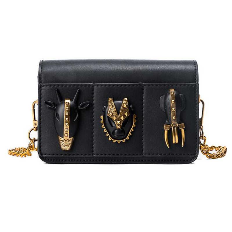 33402bc32 Nueva marca de moda Crossbody bolsos de hombro ocasionales mujeres pequeño  Mini moda PU Leather Messenger