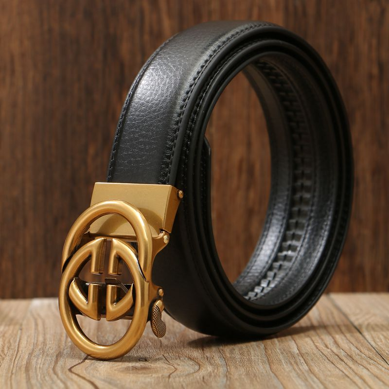 New arrival G automatic buckle brand designer   belt   women luxury   belts   for men girdle fashion black cowboy jeans 2019 hot