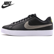 Original New Arrival 2017 NIKE COURT ROYALE LW LEATHER Men's Skateboarding Shoes Sneakers