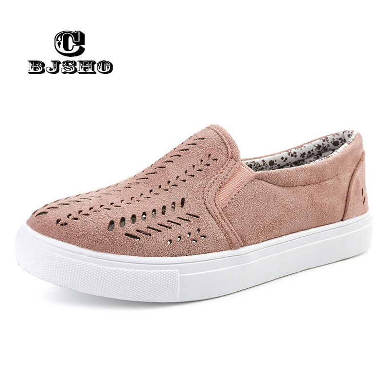 CBJSHO New Women Canvas Shoes Lace-Up Spring Hollow Breathable Ladies Flats white Shoes Casual Woman renben women canvas shoes 2017 fashion flats women casual white shoes breathable canvas lace up candy colors shoes 6e06