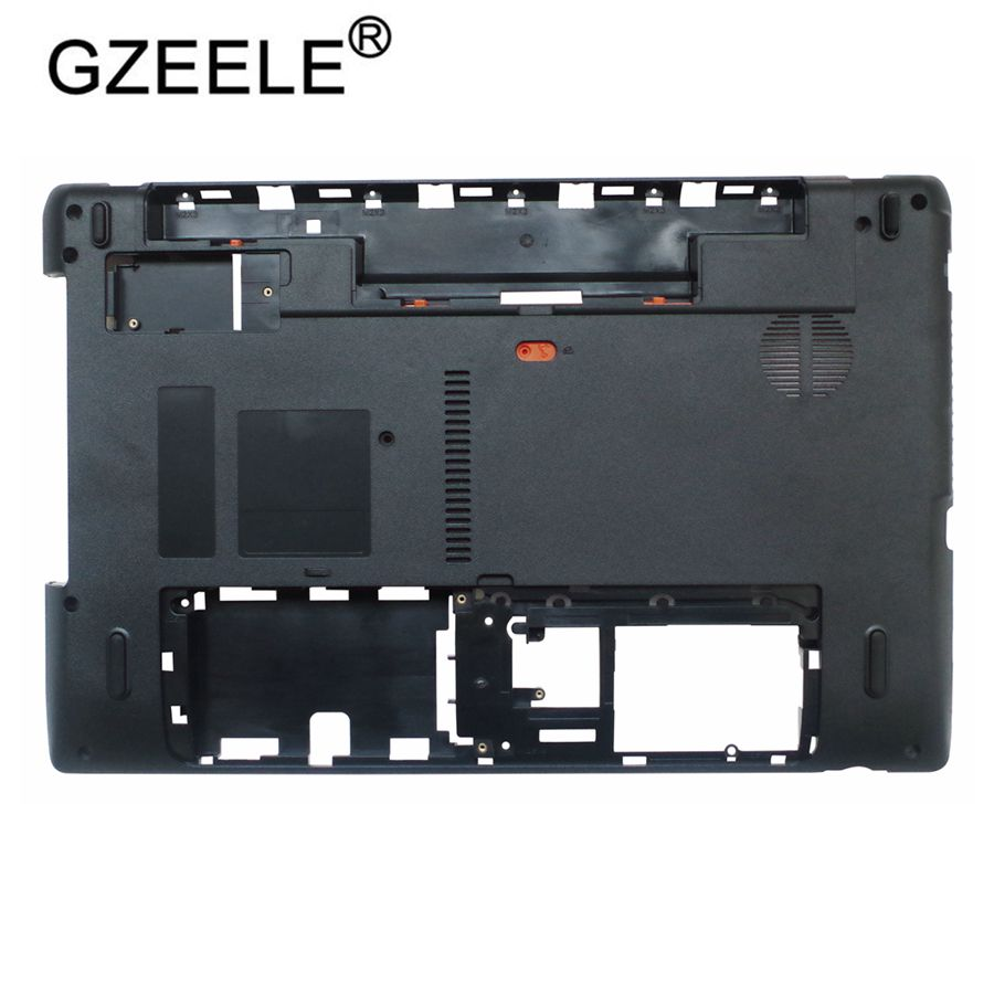 GZEELE NEW Laptop Bottom Case Cover For Acer Aspire 5750 5750g 5750z 5750ZG 5750S Lower Case Base Cover AP0HI0004000 Black Cover
