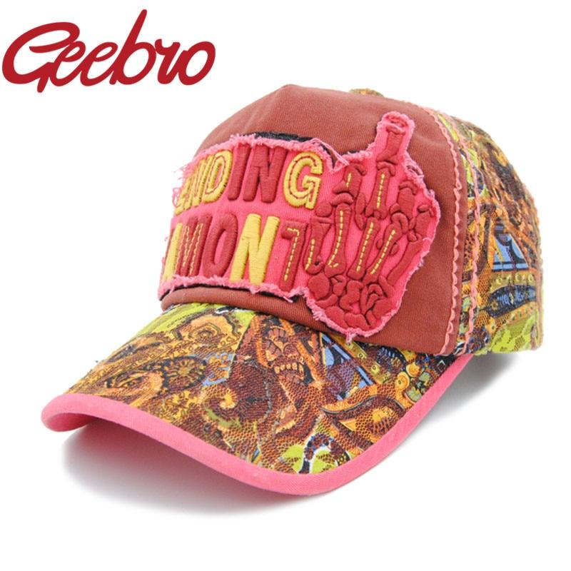 8b4e405438c Letter Ending Jamont Skeleton Hand Baseball Cap Embroidery Snapback Hat  Erect Middle Finger Hip-Hop Hats for Male Female JS079