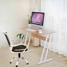 Simple Computer Desk Creative Office Staff Table Household Multifunction Writing Desk Dormitory Unadjustable Student Stable Desk(China)