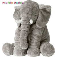 Niuniu Daddy 60cm High Quality Elephant Plush Toys Cute Dolls Soft Pillows Baby Sleeping Pillow Doll
