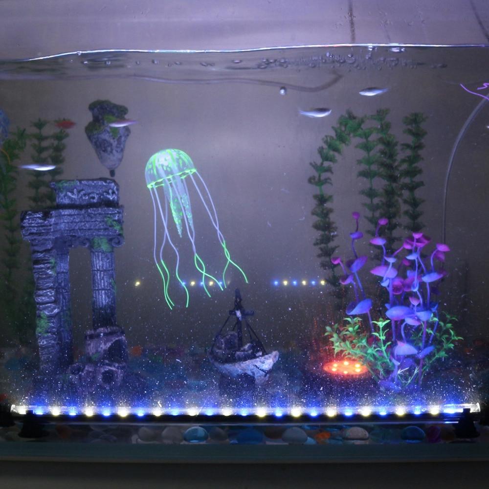 Vodoodporne LED akvarijske luči Fish Tank Light Bar modra / bela - Izdelki za hišne ljubljenčke - Fotografija 6