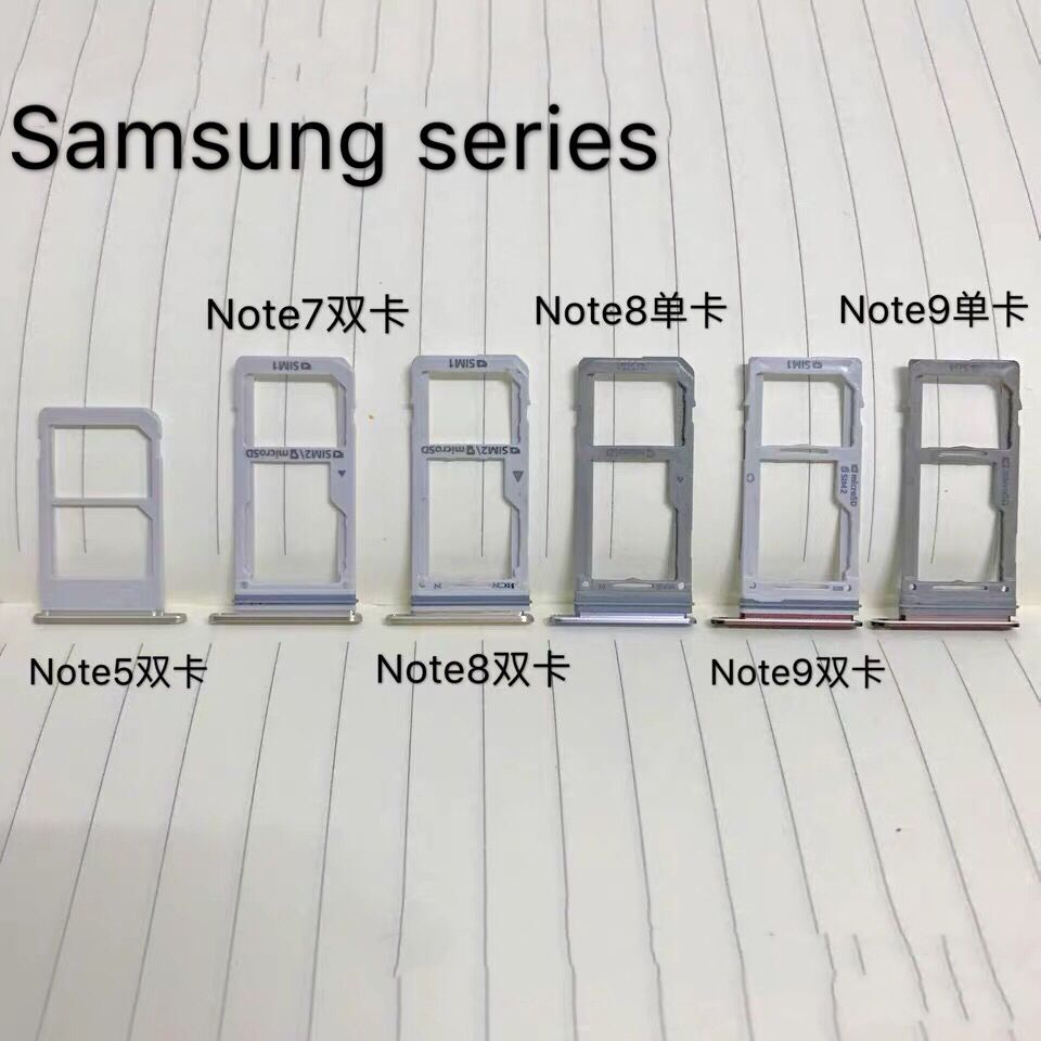 note5/7/<font><b>8</b></font>/9/E5/5009/E7/E7000/E7009 Cato Micro <font><b>Dual</b></font> <font><b>SIM</b></font> TF SD Card Socket Connector Holder Reader Motherboard PCB Repair Eject image