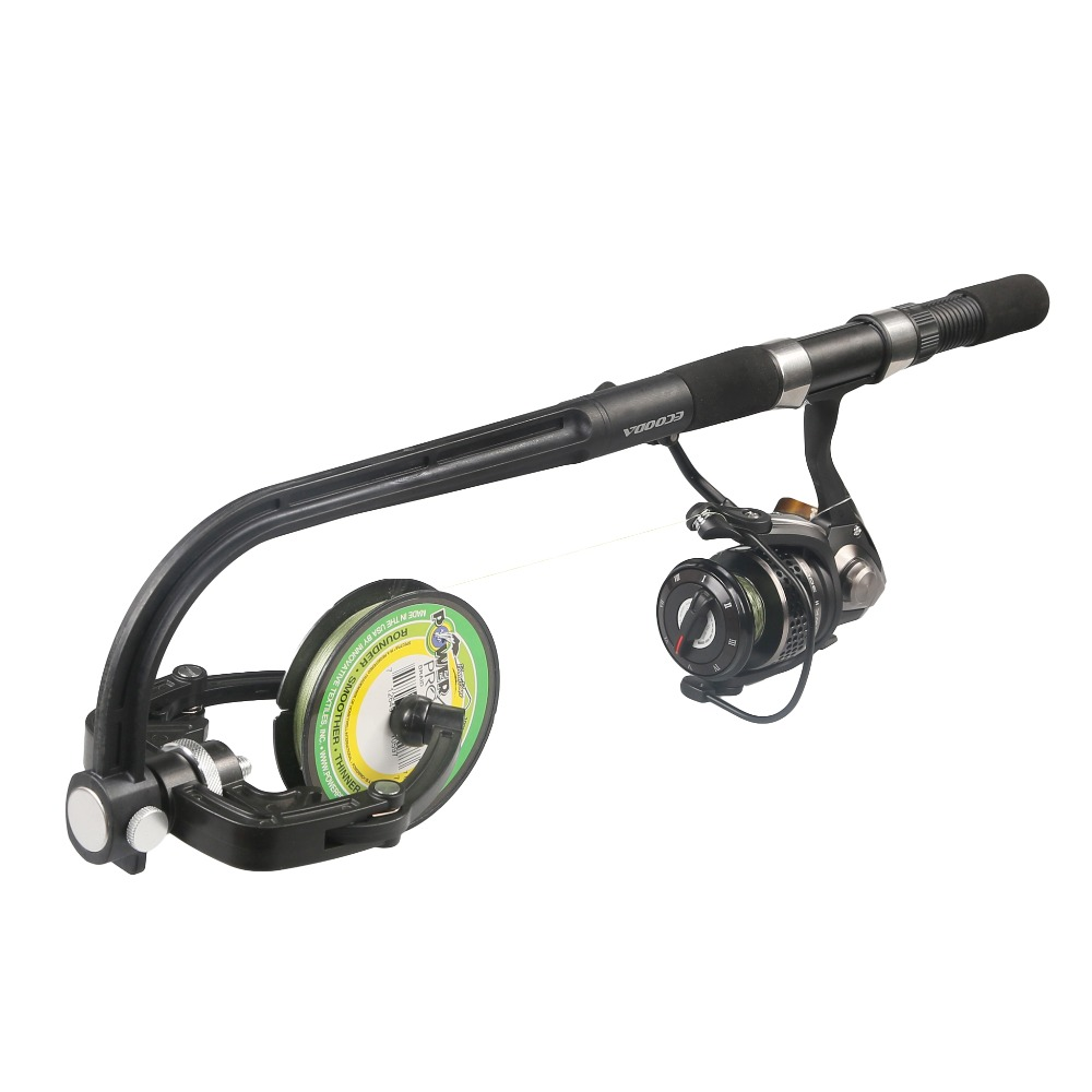Portable Spooling Station Fishing Reel Line Spooler & Winder for Spinning Fishing Reel and Baitcaster With Spinning Reel
