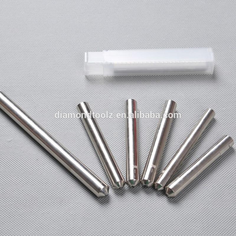 Talentool 2 pz / lotto diamante naturale incisore trascinare bit con - Accessori per elettroutensili - Fotografia 4