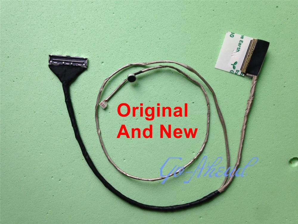 New LCD Cable For Asus K56 K56C K56CM K56VM K56CA K56CB K56E S56C A56 A56C 14005-00600000 Screen LVDS FLEX Ribbon Connector Plug