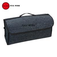 FULL WERK Large Car Smart Tool Bag Trunk Storage Organizer Bag Built In Strong Velcrofix System