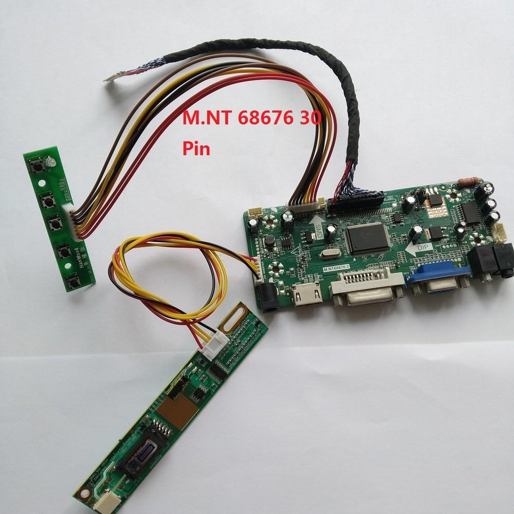 VGA M.NT68676 LCD Controller Board Driver kit for QD15TL07 HDMI DVI