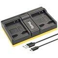 Probty DMW-BLG10 DMW BLG10 USB Dual Charger For Panasonic Lumix DMC GF6 GX7 GF3 GF5 LX100 GX80 GX85