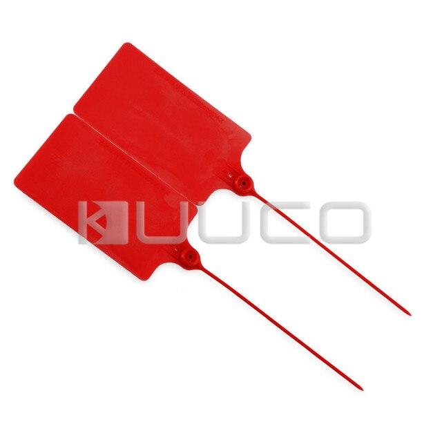Rot Kunststoff Tags/Zeichen Kabelbinder/Kunststoff Kabelbinder/Tag ...