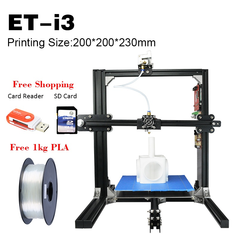 3D Printer ET-i3 With 3D Scanner Family Plan Good Price