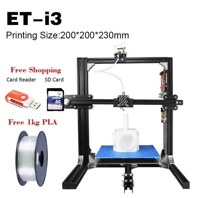 3D Printer ET i3 with 3D Scanner Family Plan Good Price Best Printers 3D Hot Sale