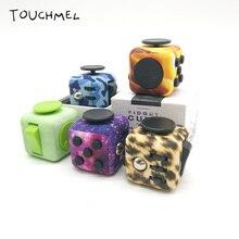 Камуфляж Кубик-антистресс EDC руки Spinner игрушка снять стресс Vent Игрушки