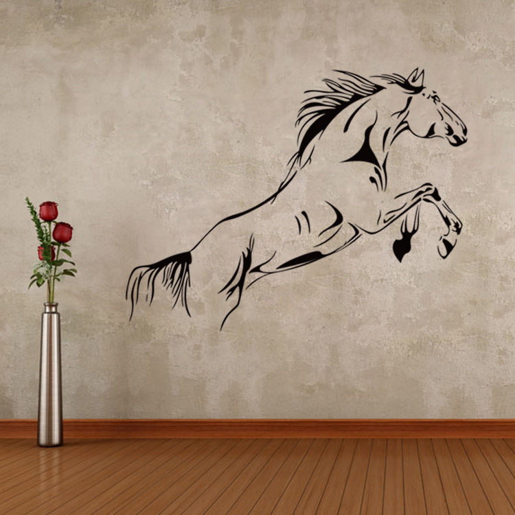 Galloping Horse Creative Living Room Wall Decor Poster