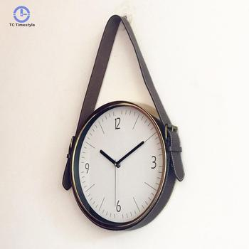 Wall Clock Modern Design Home Decoration Accessories Creative Belt Wall Clocks Rose Gold Metal Digital Watches Buy At The Price Of 46 69 In Aliexpress Com Imall Com