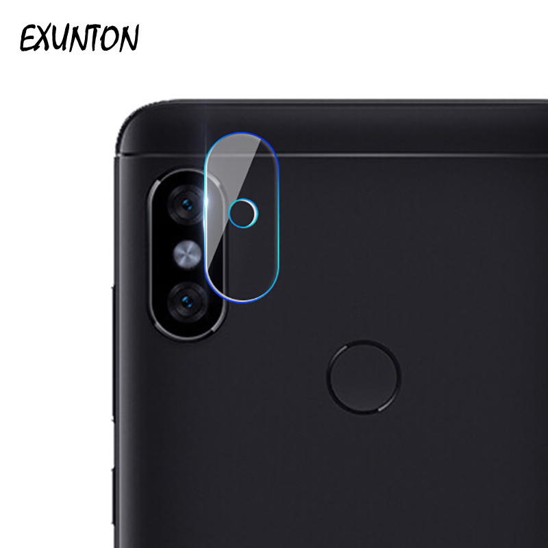 EXUNTON 2PCS Camera Lens Tempered Glass Screen Protector For Xiaomi Redmi Note 5 Camera Lens Film For Redmi Note5 Pro Indian