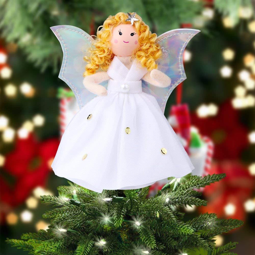 Angel Christmas Tree Top Star Christmas Tree Decorations ...