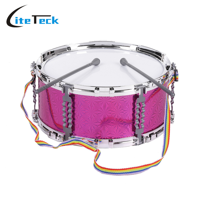 hot sale colorful jazz snare drum percussion instrument with drum sticks strap musical toy for. Black Bedroom Furniture Sets. Home Design Ideas