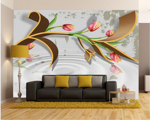 3d muurschilderingen behang voor woonkamer 3D HD Terrassen Pavilion ...
