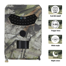 Trail Hunting Camera Scouting 1080P 12MP Infrared Camera  Wild Night Vision Outdoor Hunter Camera 12mp 1080p fhd infrared night vision scouting camera game trail hunting camera with 42pcs ir leds