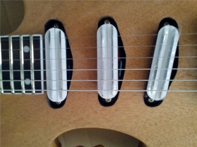 Custom Handmade Quality headless electric guitar 4