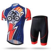 Летние Vélo Для Мужчин's Велосипедная форма MTB Велоспорт Наборы с короткими рукавами костюм Размеры S 3XL