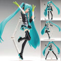"15cm/6"" Hatsune Miku Figurine PVC Manga Dolls Action Figure Toy Collection"