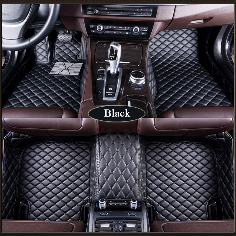 Custom for Jaguar XF XE XJL XJ6 XJ6L F PACE All F TYPE accessories car waterproof styling floor mats in Floor Mats from Automobiles Motorcycles