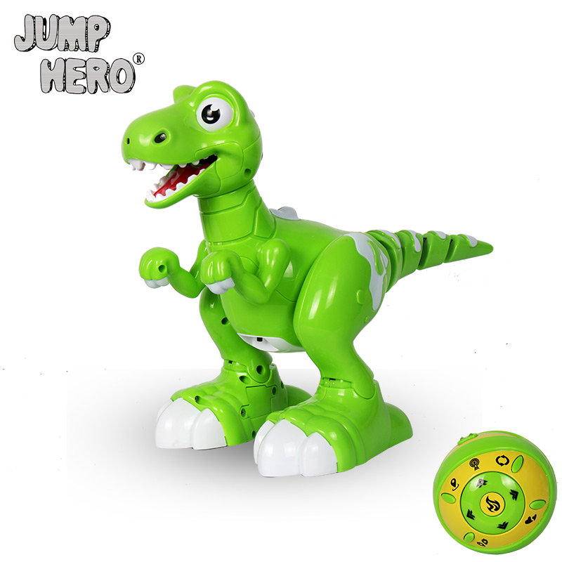 все цены на RC Dinosaur Intelligent Electronic Spray Music Dance 2-Colors Remote Control Dragon Animal Robots Child's Toys for Kids Gift #D