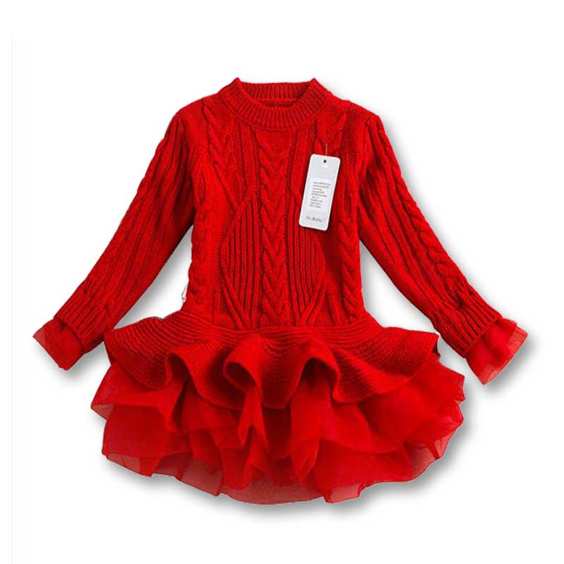 Knitting Sweaters For Girls : Aliexpress buy new girls knitted sweater autumn