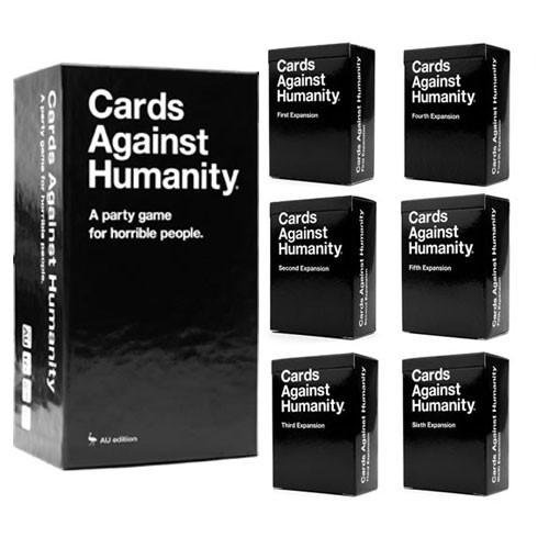1pcs 3pcs 5pcs Cards Against the Humanity A Party Game Playing cards First Second Third Fourth Fifth sixth Version