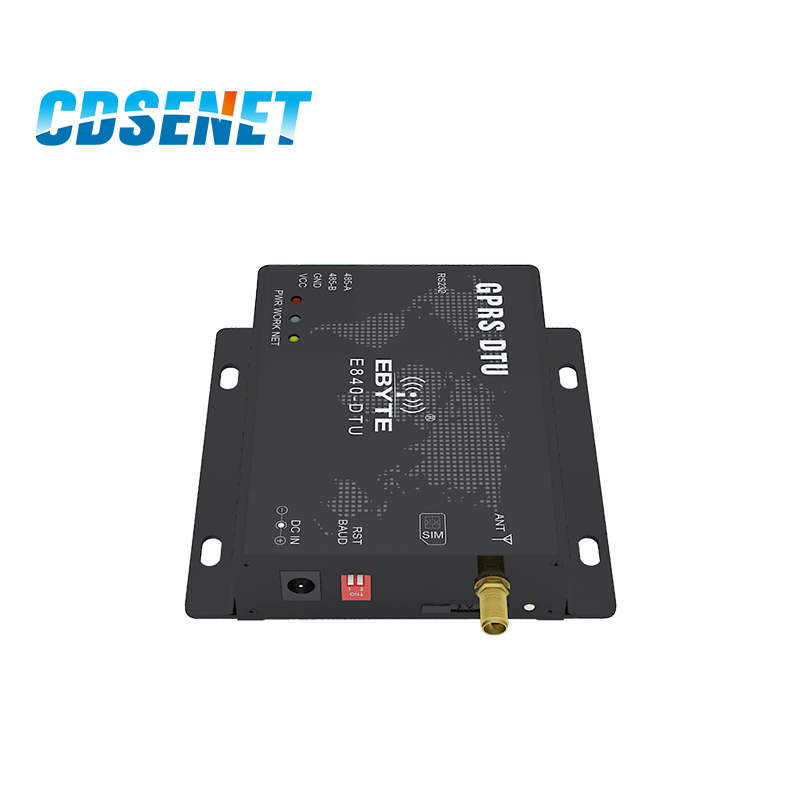 Image 2 - GPRS Transceiver Module RS232 RS485 GSM Wireless Transmitter CDSENET E840 DTU Quad band 850/900/1800/1900MHz Reciever Module-in Fixed Wireless Terminals from Cellphones & Telecommunications