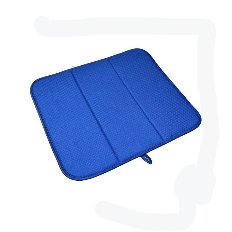 Multi-functional Anti-skid Eat Mat Durable Microfiber Dish Drying Mat Machine Washable