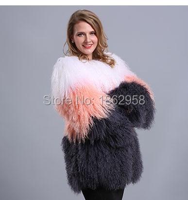 01 Bande Moutons Customized Mongol Sj532 Chaud Style Vêtements Hiver Fourrure russe O Manteau Fourrure De cou dpgZBncZ