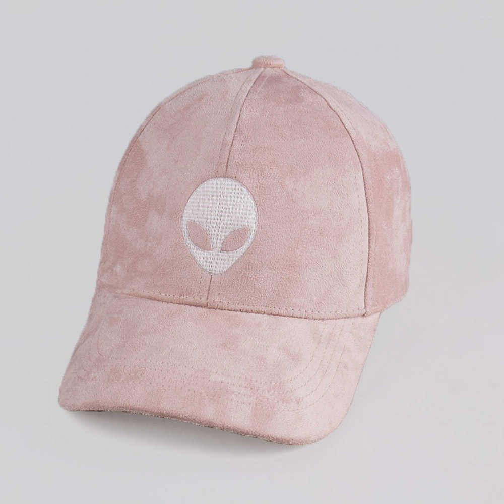 Yeni Varış Snapback Süet Beyzbol Şapkası Yabancılar Outstar Saucer Uzay E.T UFO Hayranları Için Gorras Şapka Erkekler Kadınların Sokak Hip Hop Kap