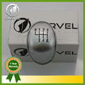 Free Shipping For Ford Focus Fiesta C-max B-max Mondeo 6 Speed Gear Shift Knob Silvery Cover