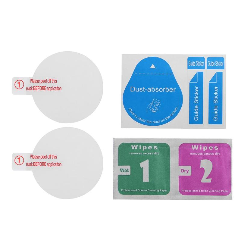 2pcs High Strength Tempered Glass Clear Protective Films Screen Protector For Garmin Forerunner 235 630 230 220 225 235 620