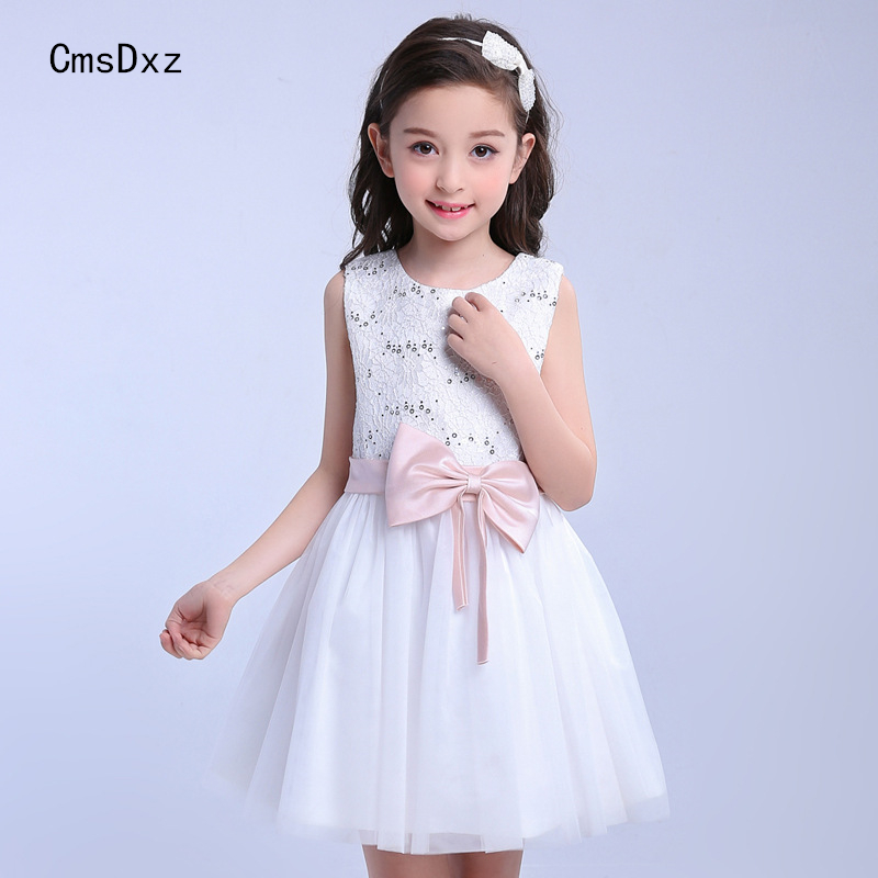 CmsDxz Summer Dress 2017 New Girls Princess Dresses Summer Kids Prom Dresses Ball Gown For Birthday Party Pretty Baby Clothes round copper hand spinner stress reducer for autism adhd